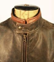 X-Men 'Origins' 'Wolverine' Leather Jacket Wested Leather Co